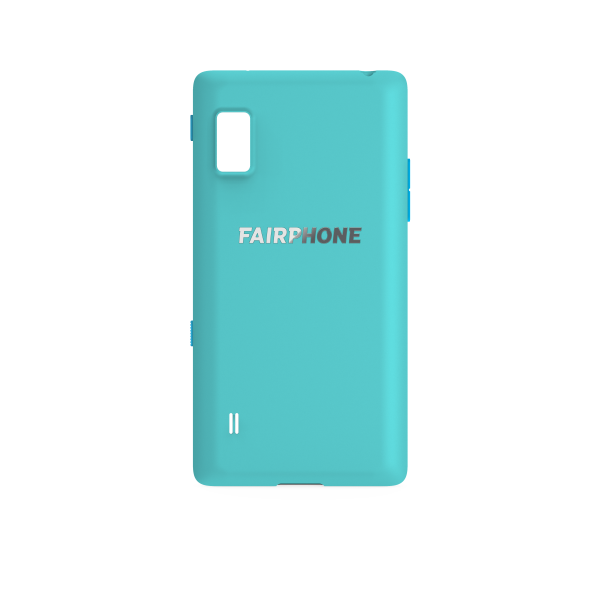 Slim Cover für Fairphone 2 - Türkis
