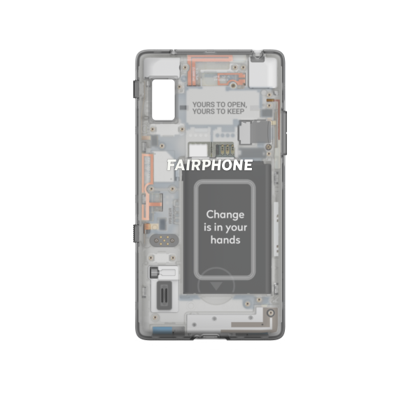 Slim Cover für Fairphone 2 - Transparent