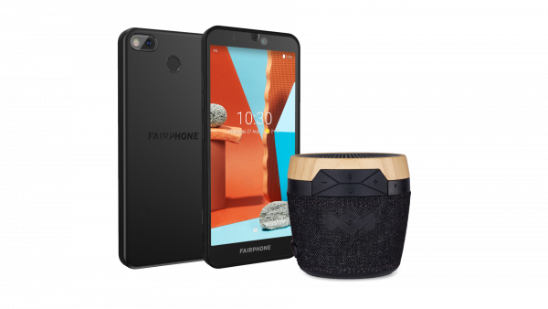 Fairphone 3+ (Schwarz, Dual SIM, 5.65'', 64GB)