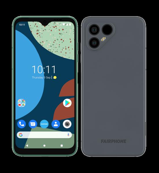 """Fairphone 4 (Grau, Dual SIM, 6.3"""", 128GB, 5G)"""