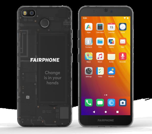 Vorinstalliertes /e/ Betriebssystem auf dem Fairphone 3