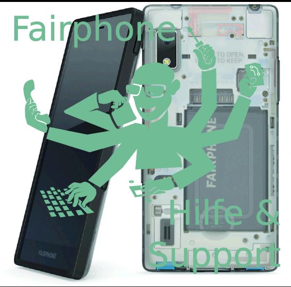 Fairphone Benutzungseinführung, Schulung, Hilfe und Support