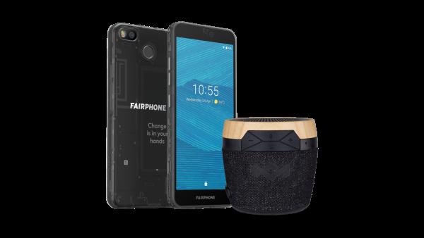 Fairphone 3 (Schwarz Transparent, Dual SIM, 5.65'', 64GB)
